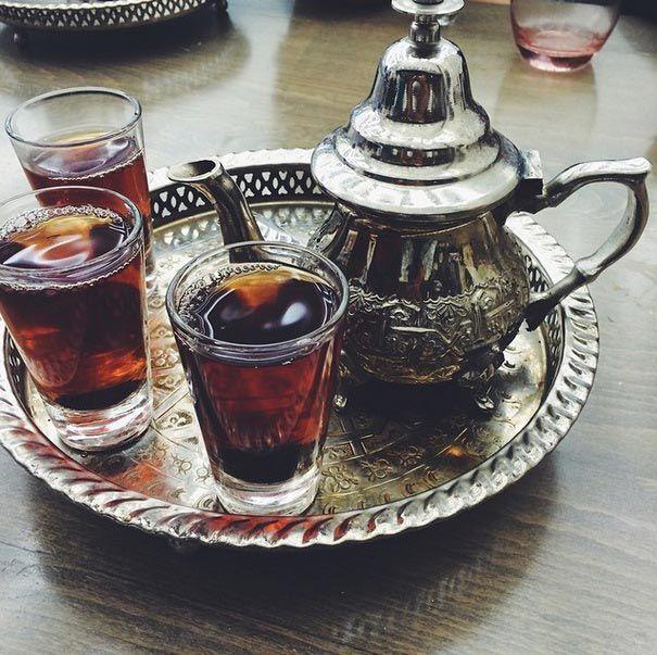 Египет-несладкий черный чай