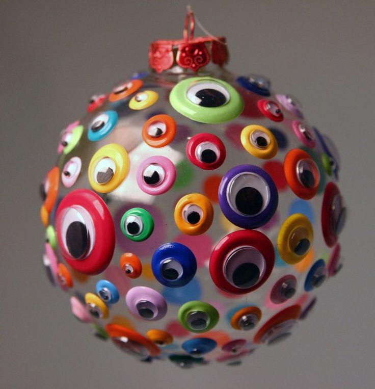 Елочный шар-с глазками