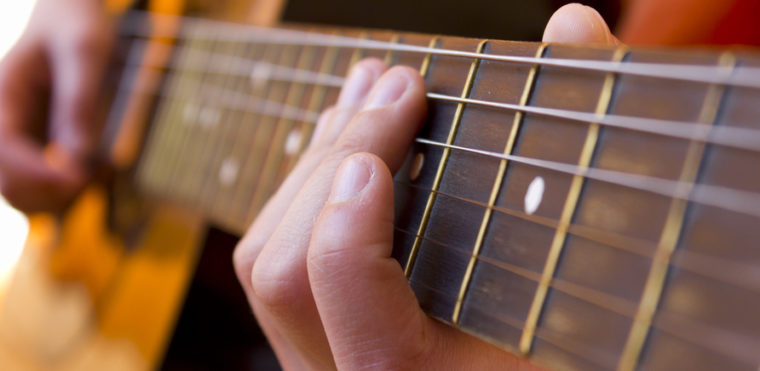 Игра на гитаре-хобби