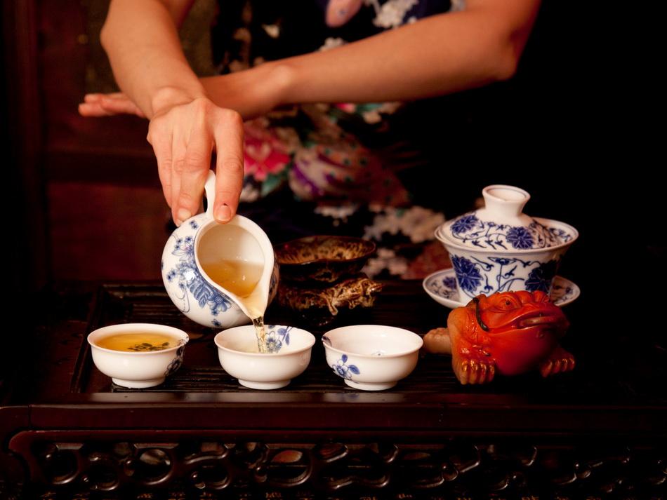 Китайская чайная церемония-фото