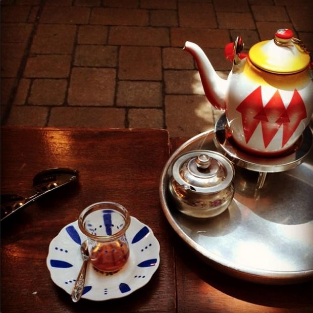 Кувейт-лиственный черный чай с кардамоном и шафраном