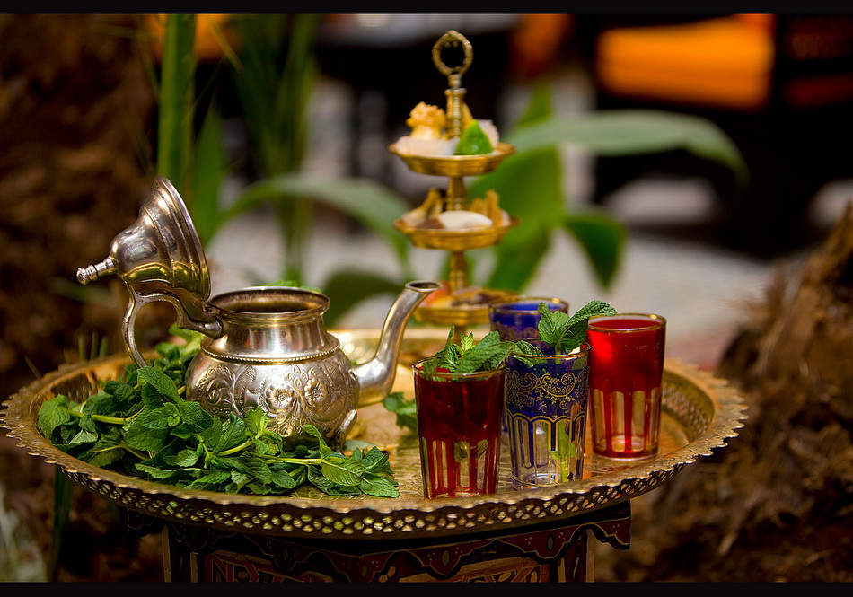 Марокканская чайная церемония-фото