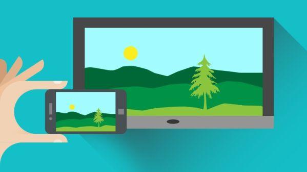 Несколько простых способов как подключить смартфон к телевизору - одна картинка