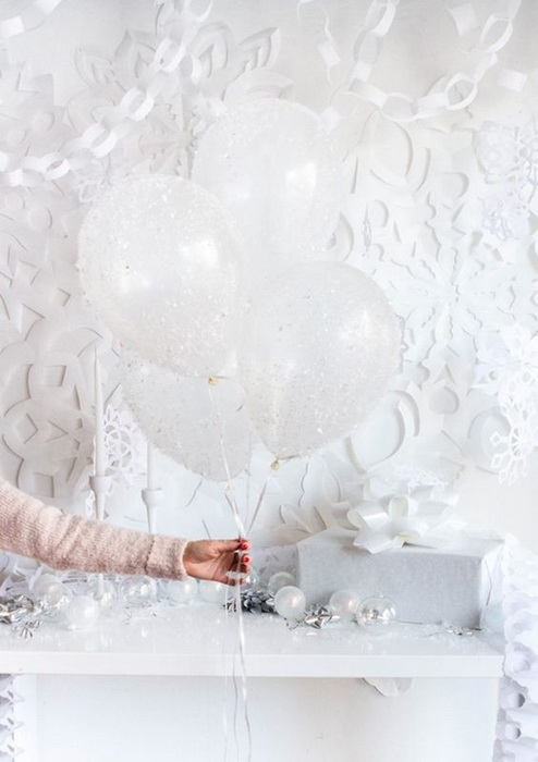 Новогодние шары-идем в гости