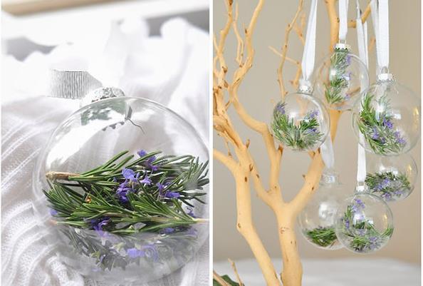 Новогодний хендмейд-флористические мотивы