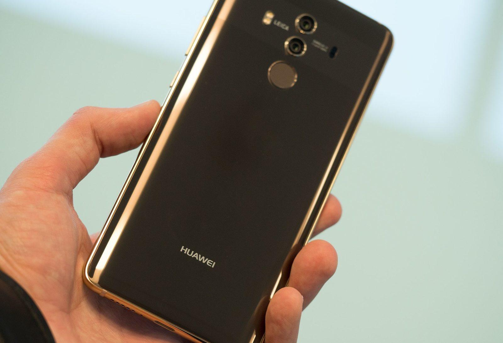 Обзор Huaawei Mate 10 Pro - задняя часть смартфона