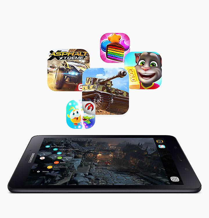 Обзор планшета Samsung Galaxy Tab A 8_0 t385 - Game Launcher