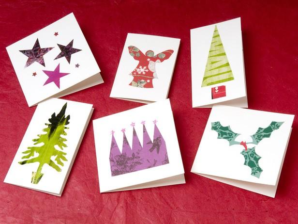 Оригинальные новогодние открытки-идеи