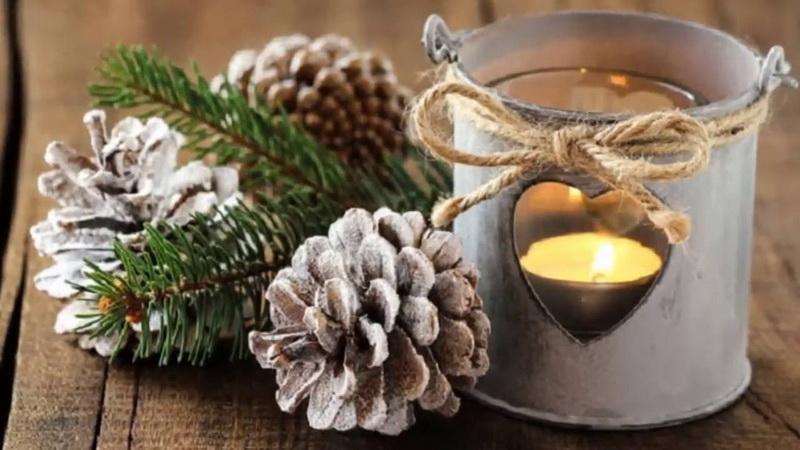 Оригинальные новогодние подсвечники-фото и идеи