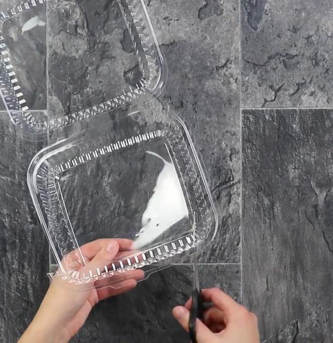 Пластиковая упаковка-материалы для браслета