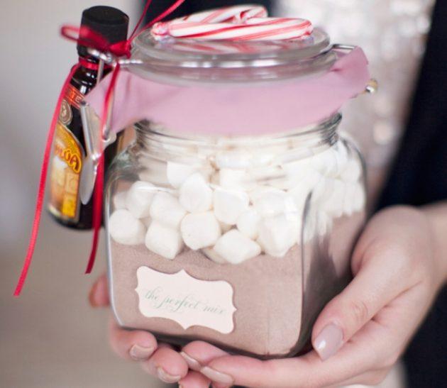Подарок на Новый год-набор для горячего шоколада фото 1