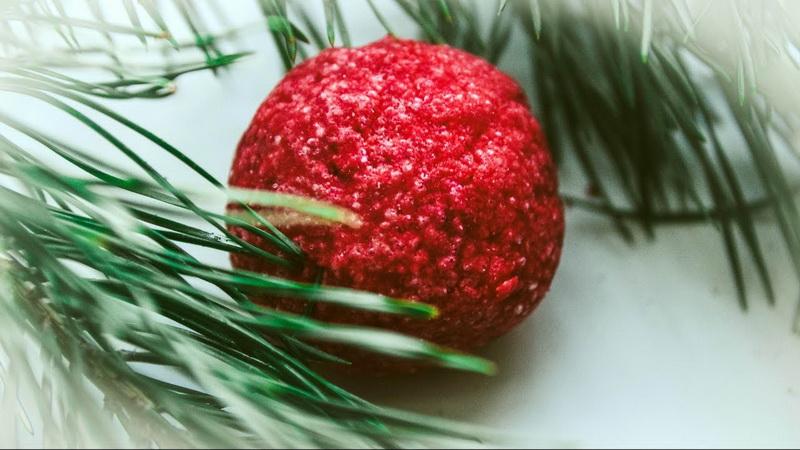 Подарок на Новый год-шипучая бомбочка для ванны