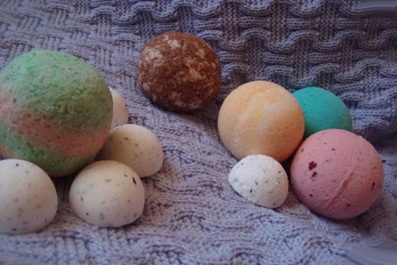 SPA дома-шипучие ароматные бомбочки для ванн