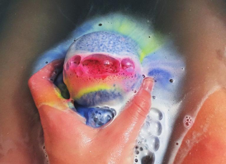 SPA-шипучие аромабомбочки для ванной-релакс