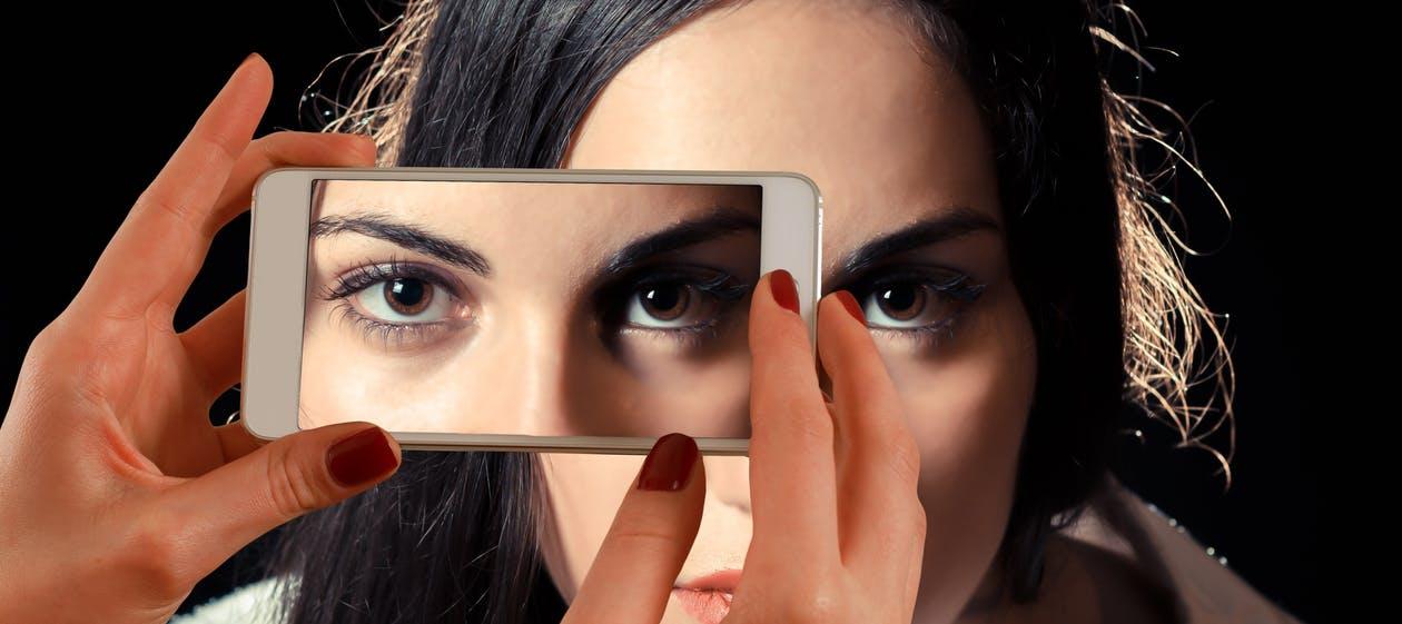 Смартфоны 2017_лучшие технологии года - фотографируем глаза