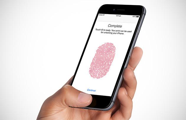 Смартфоны 2017_лучшие технологии года - сканер отпечатков пальцев на кнопке Домой