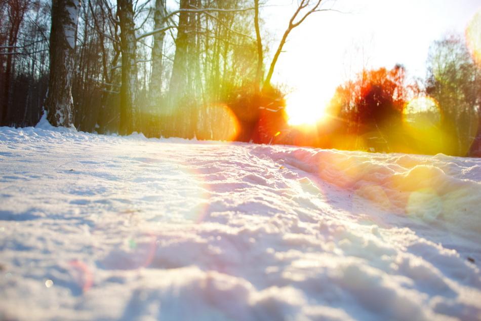 Солнце-зима