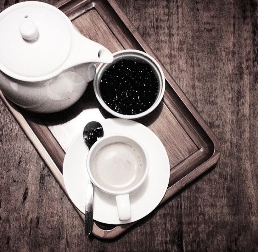Тайвань-чай с тапиокой