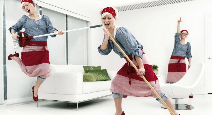 Веселая уборка-снятие стресса