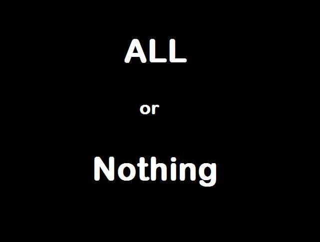 Все или ничего-фото