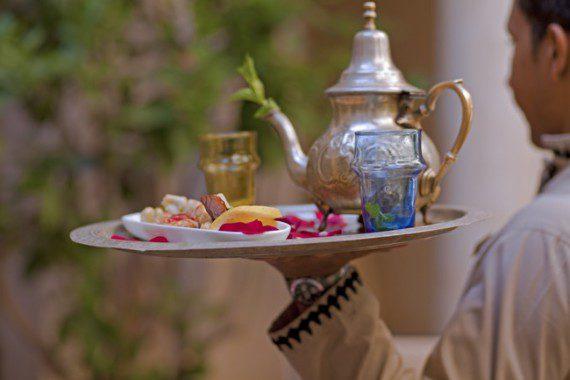 Зеленый чай с мятой-чайные традиции Марокко