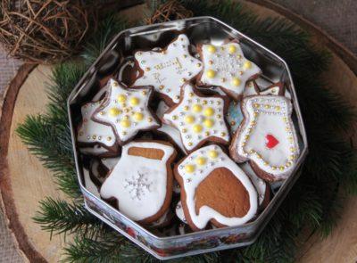 Традиционное имбирное печенье