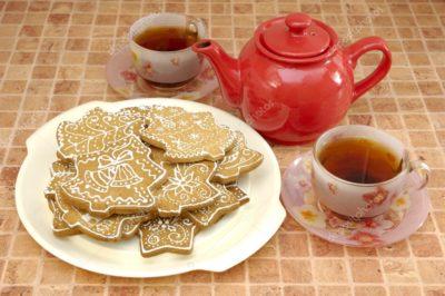 Имбирное печенье – отличный вариант для чаепития