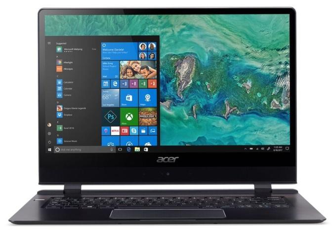 Acer Aspire Swift 7-экран