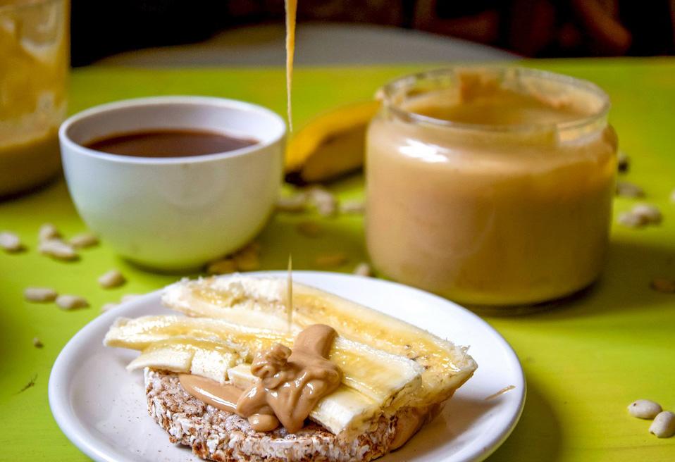 Арахисовая паста-как употреблять