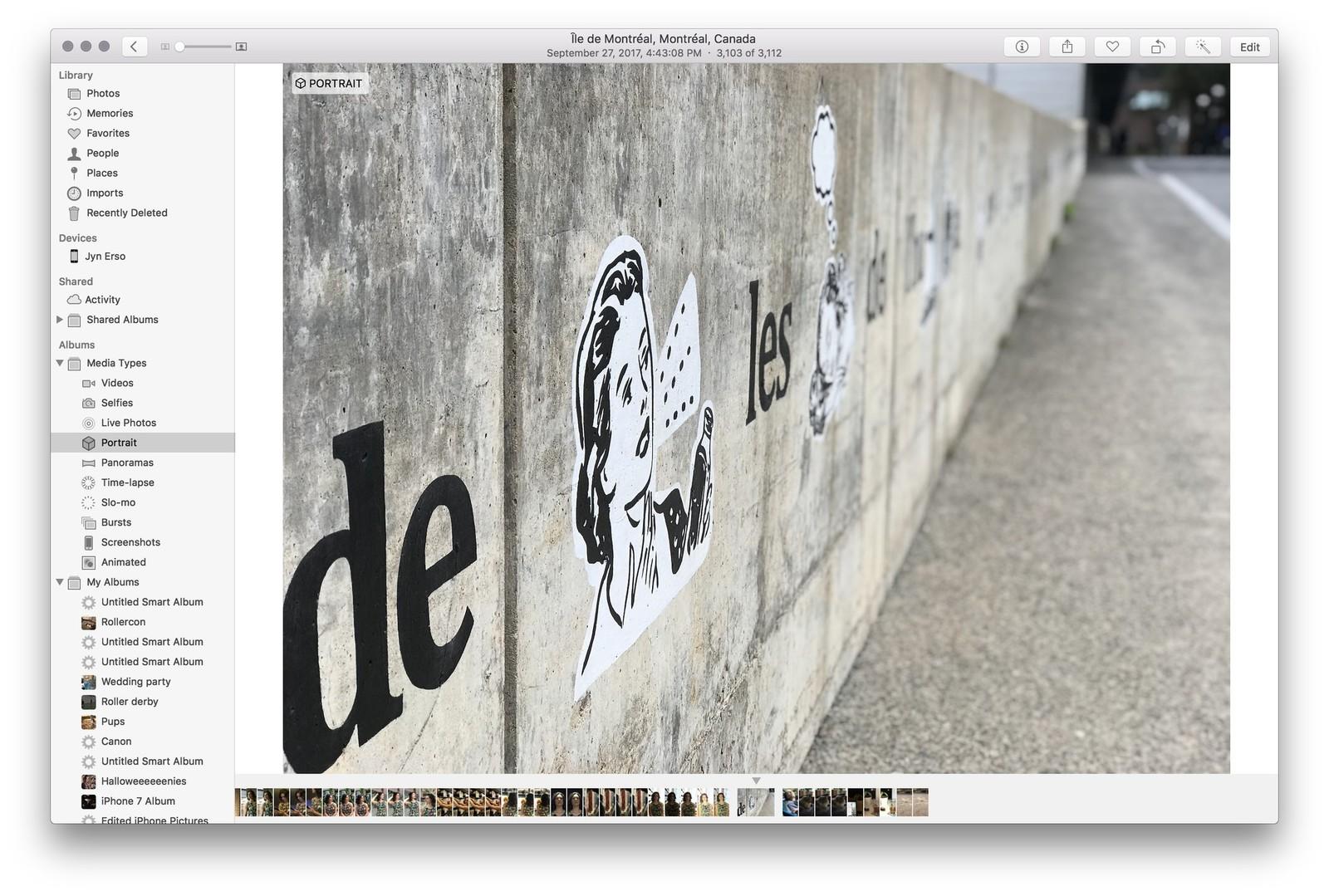 Как использовать портретный режим и портретное освещение в iPhone X - как отредактировать на macOS