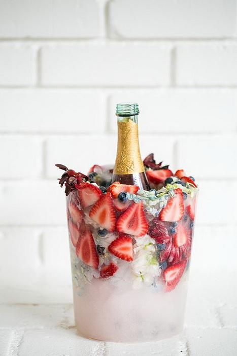 Ледяная ваза-для охлаждения шампанского