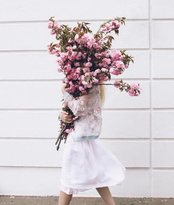 Охапка цветов-для счастья