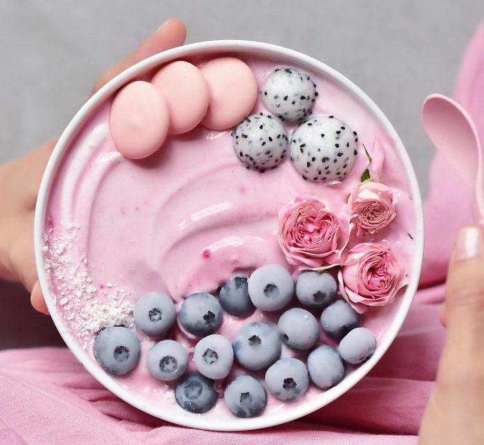 Samira Kazan-радужная еда фото 13