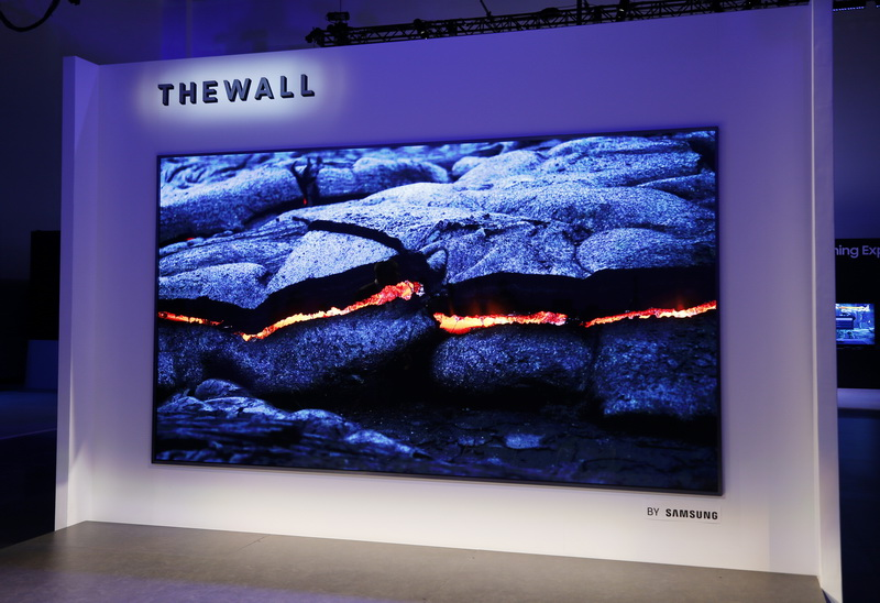 Samsung The Wall MicroLED TV-модульный телевизор