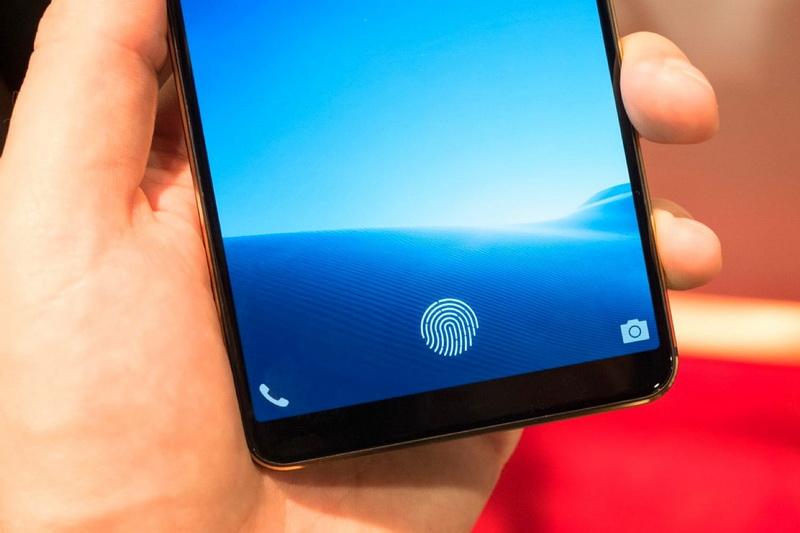 Смартфон Vivo-со сканером отпечатков пальцев в экране