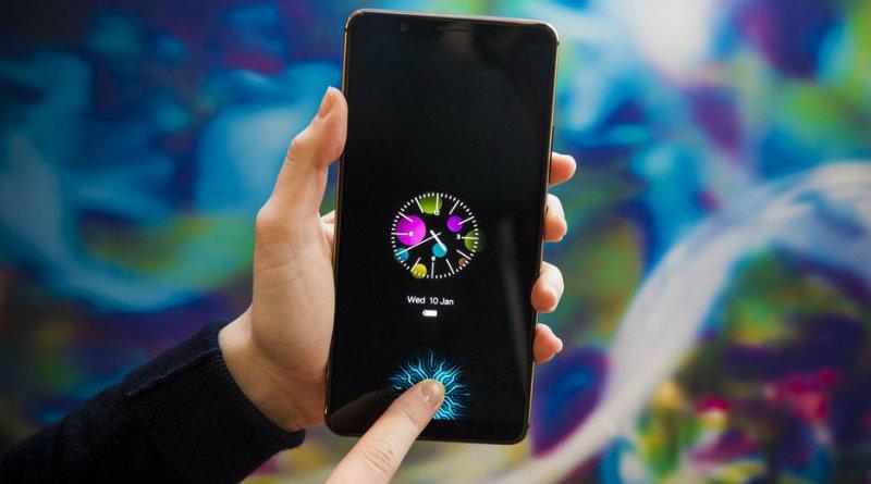 Смартфон Vivo-со встроенным в дисплей сканером отпечатков пальцев