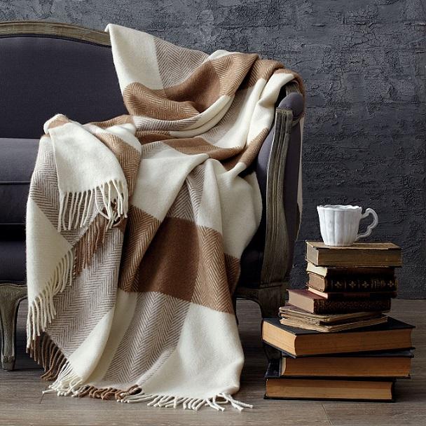 Теплый плед-для уютных вечеров