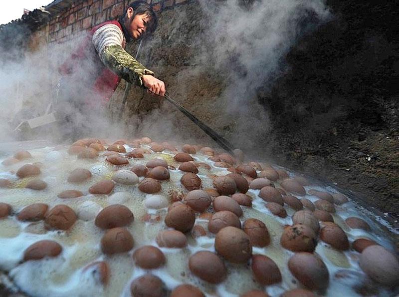 Тунцзыдань-китайский деликатес и наследие культуры