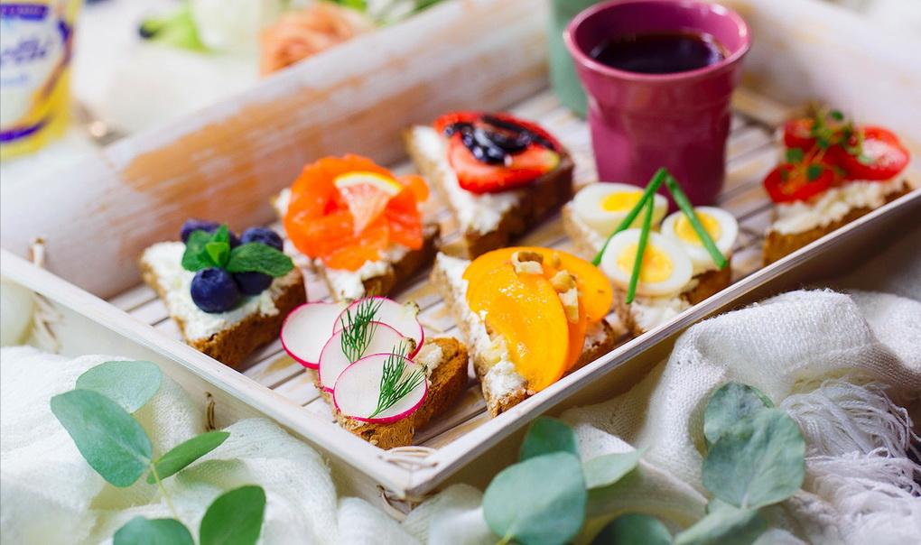 Завтрак-сюрприз-мини-тосты
