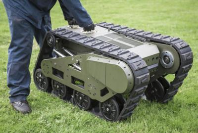 Гусеничная роботизированная платформа