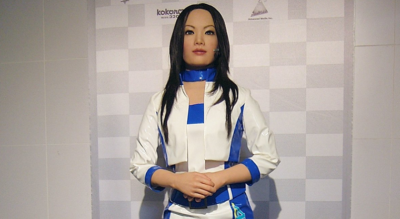 Робот Actroid-F2.