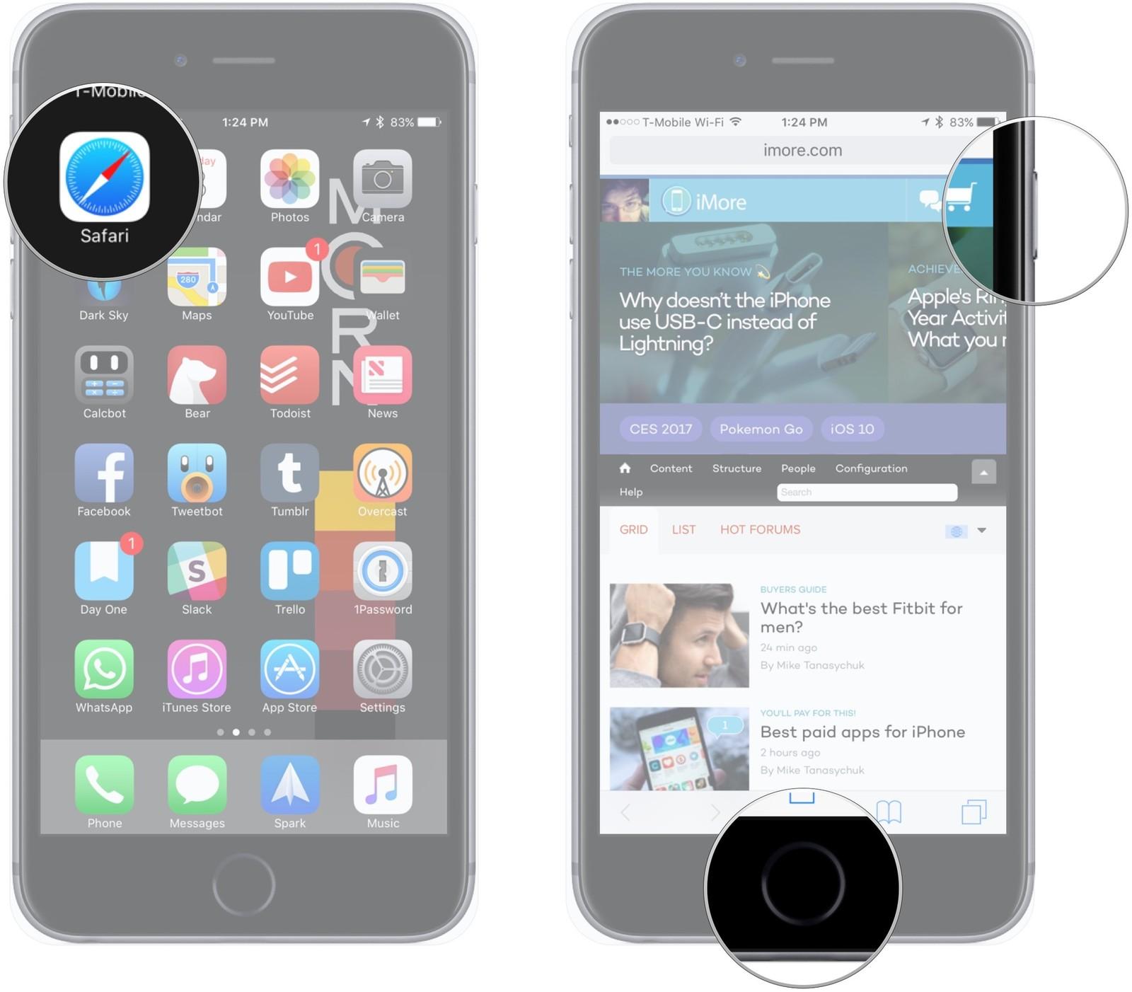 11 вещей которые должен знать каждый пользователь iPhone или iPad - делаем скриншот