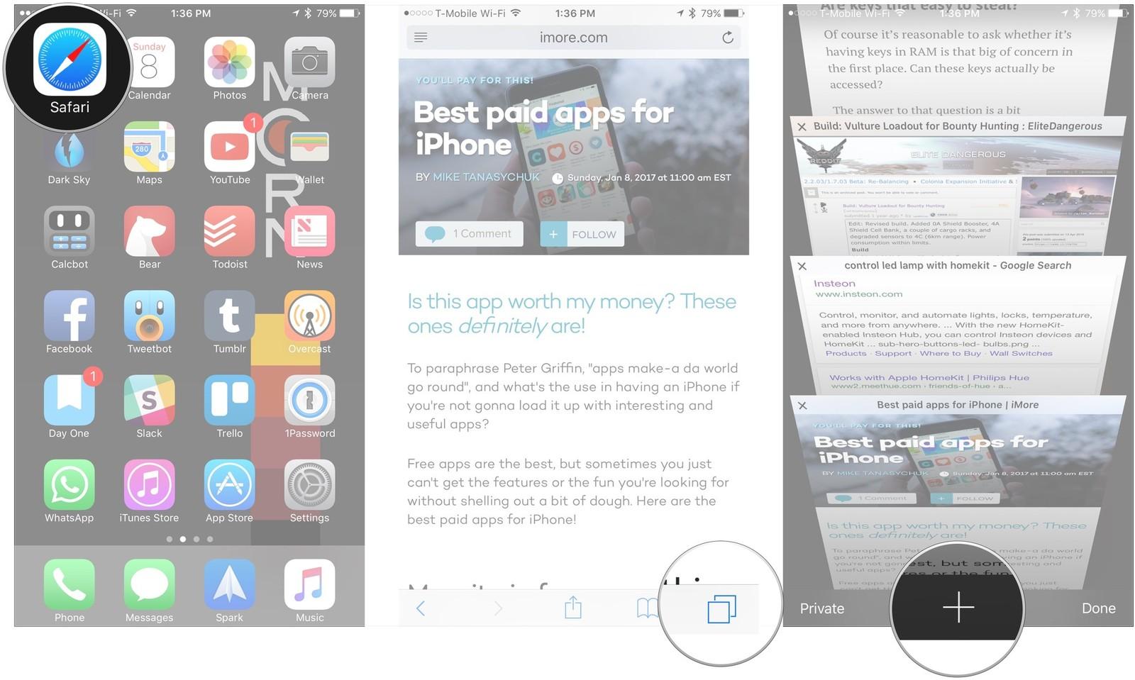 11 вещей которые должен знать каждый пользователь iPhone или iPad - закладки в браузере