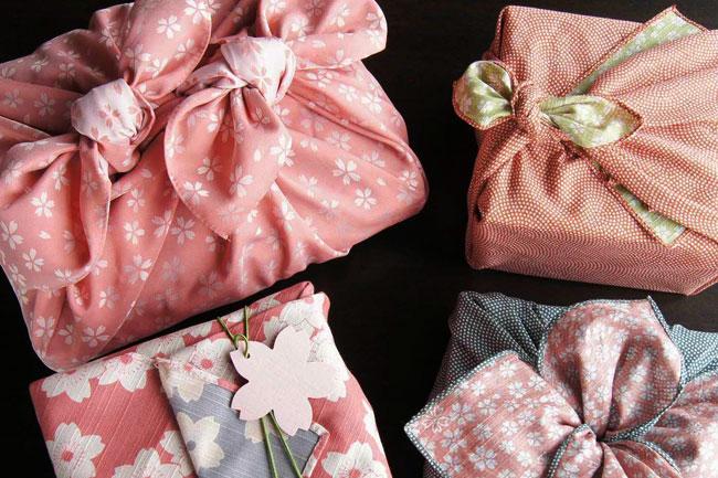 Фуросики-искусство заворачивания подарков и предметов в ткань