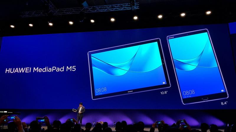 Huawei MediaPad M5-новинки MWC-2018