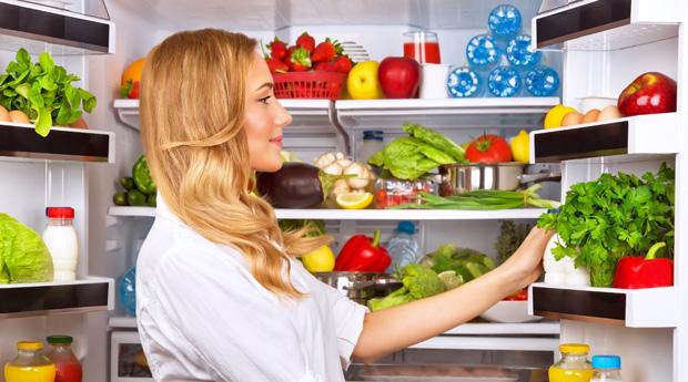Как правильно установить холодильник - холодильник с продуктами