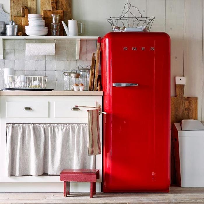 Как правильно установить холодильник - красный холодильник