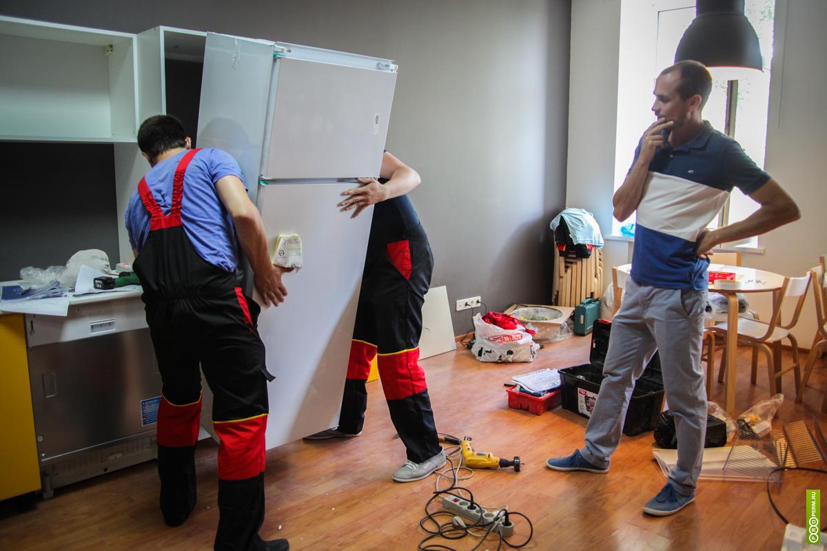 Как правильно установить холодильник - установка холодильника