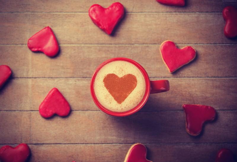 Кофе-День святого Валентина