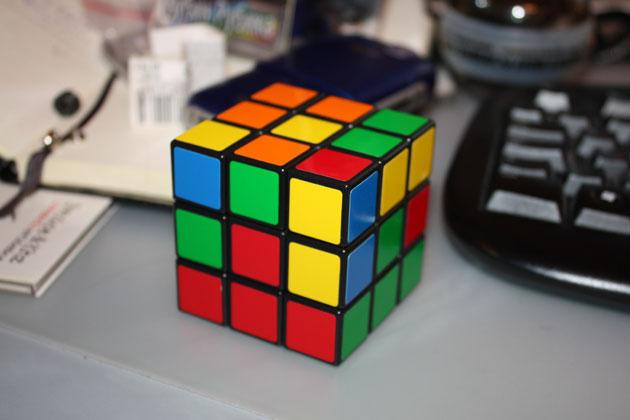 Кубик Рубика-фото